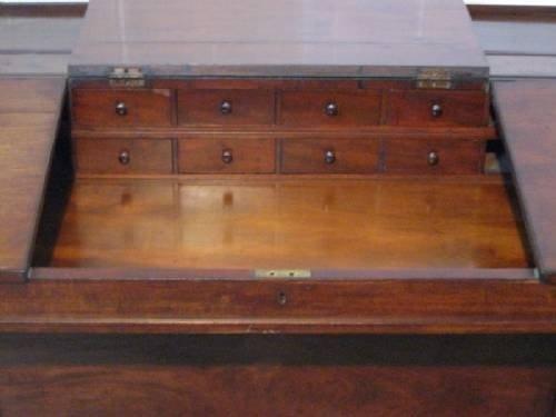 Large Antique Victorian Mahogany Davenport Desk C1880 36712 Www